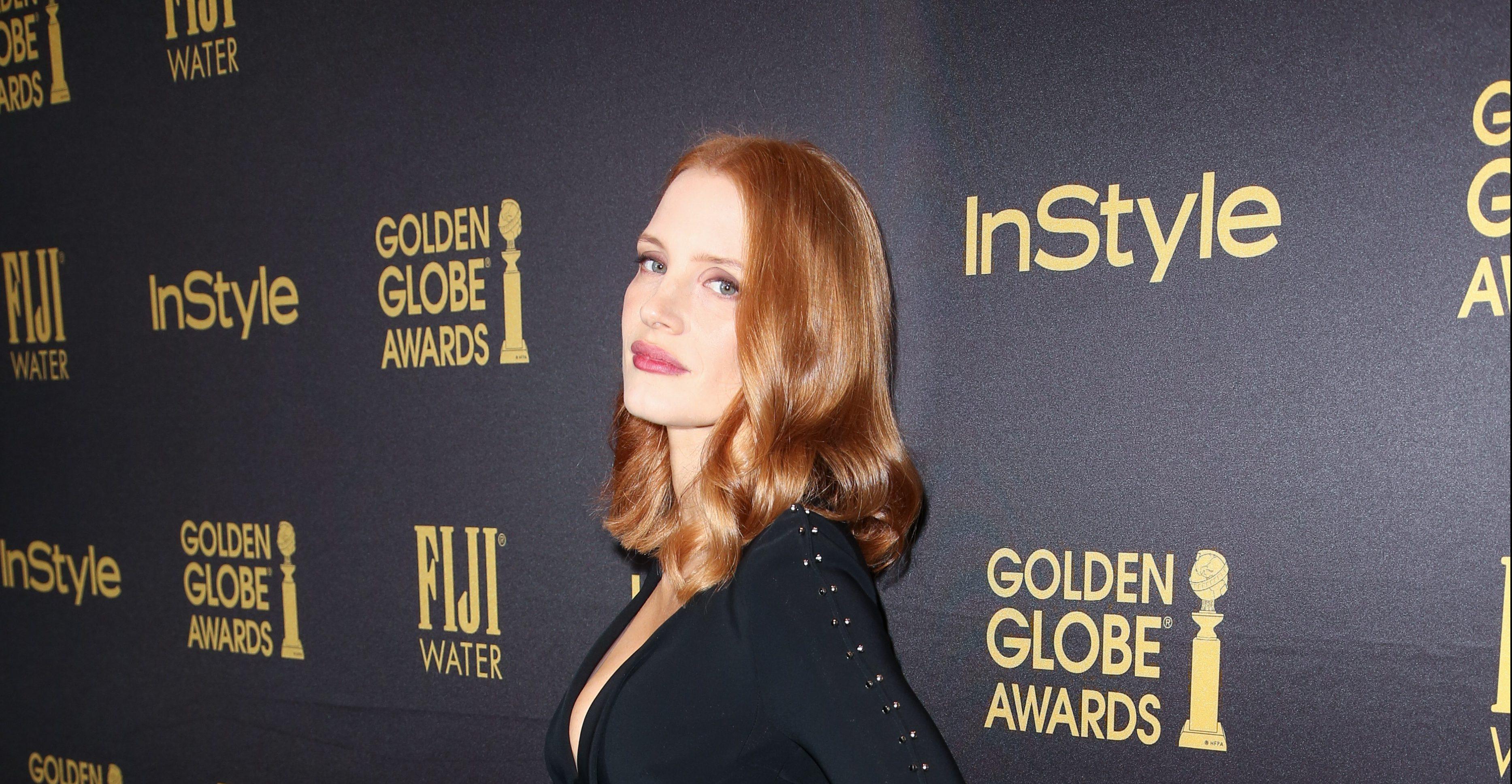 Jessica participa do Celebration of the 2017 Golden Globe Awards Season