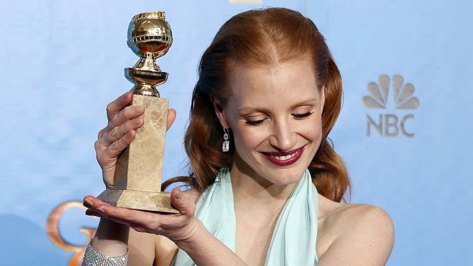 Jessica é indicada ao Globo de Ouro!
