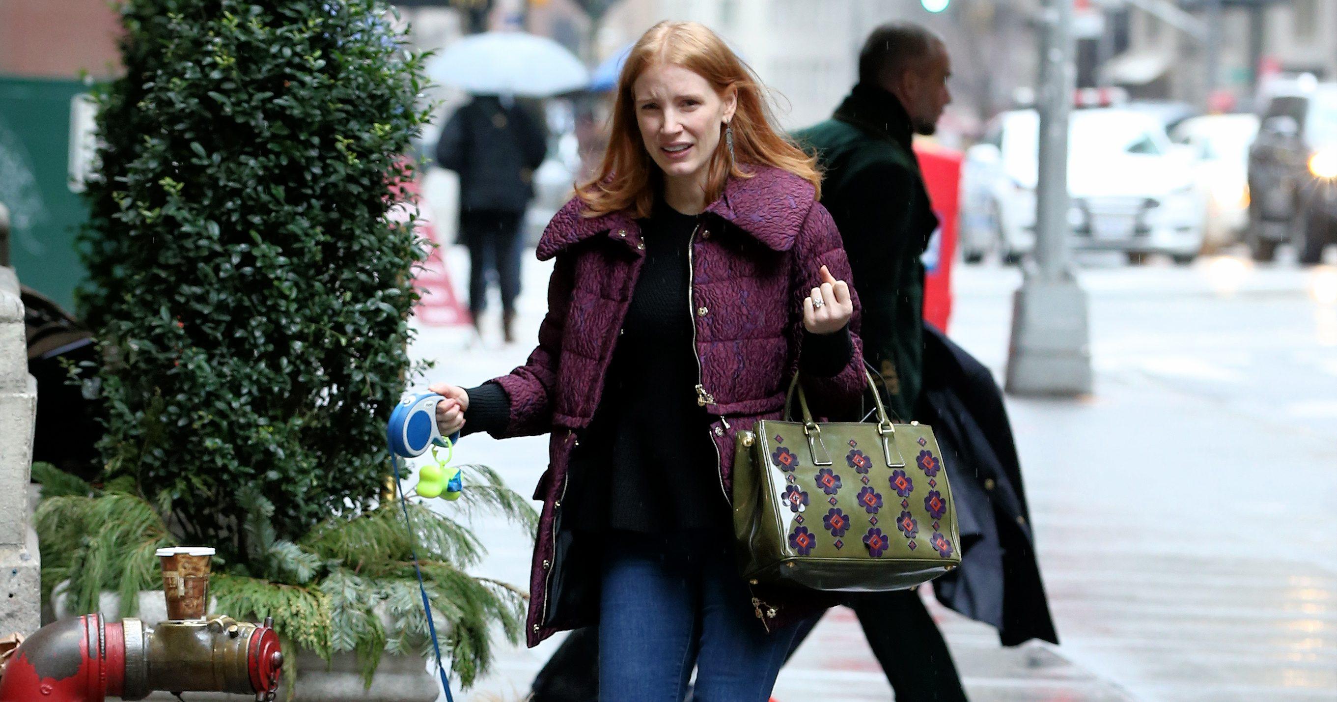 CANDIDS: Jessica passeando em Nova Iorque