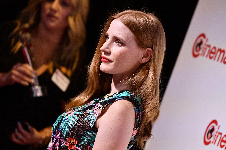 Jessica ganhou o prêmio de Female Star of the Year no CinemaCon