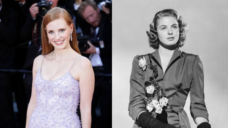 Jessica interpretará Ingrid Bergman em novo projeto