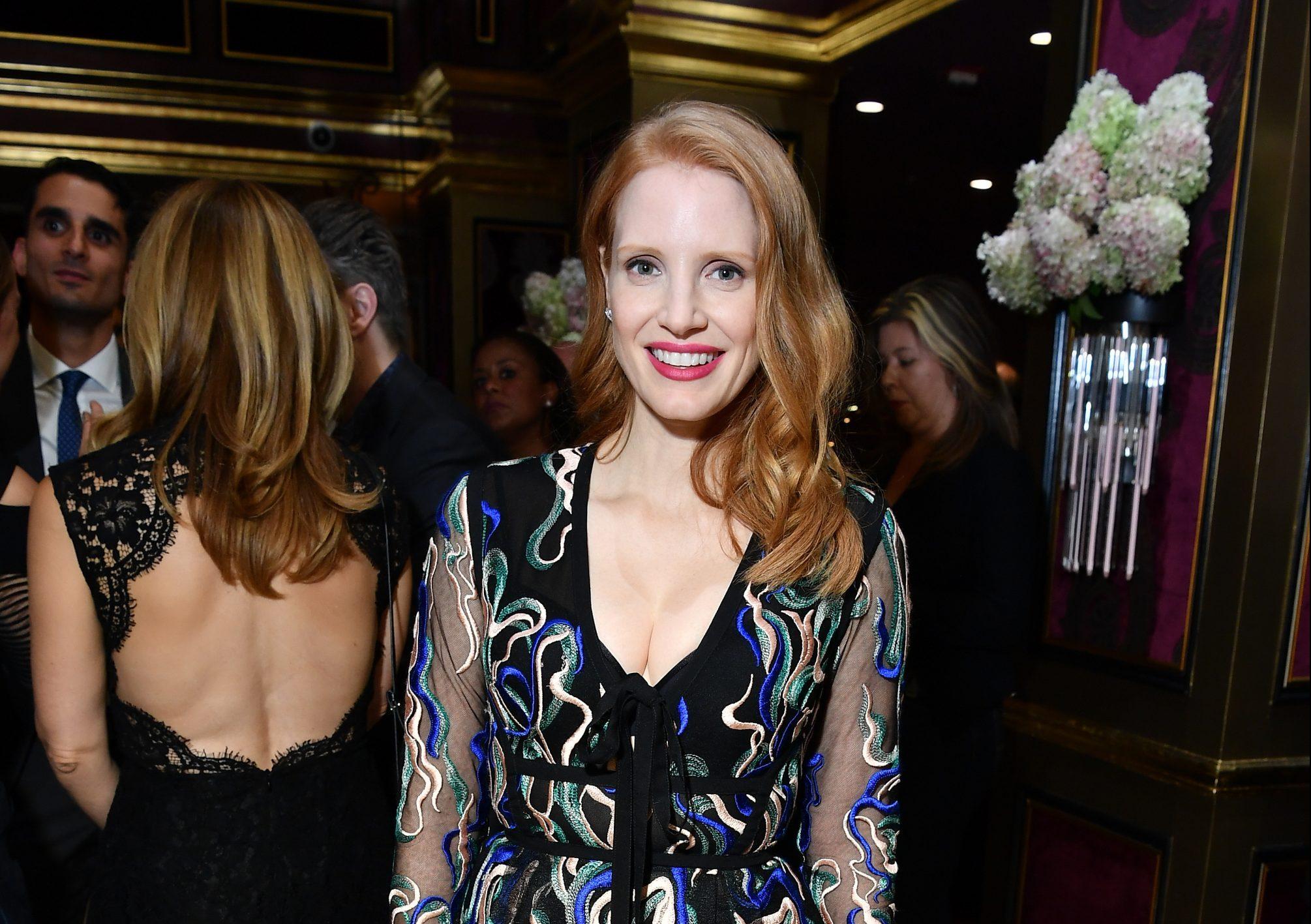 TIFF 2017 | Jessica comparece a festa da HFPA & InStyle e Entertainment Weekly