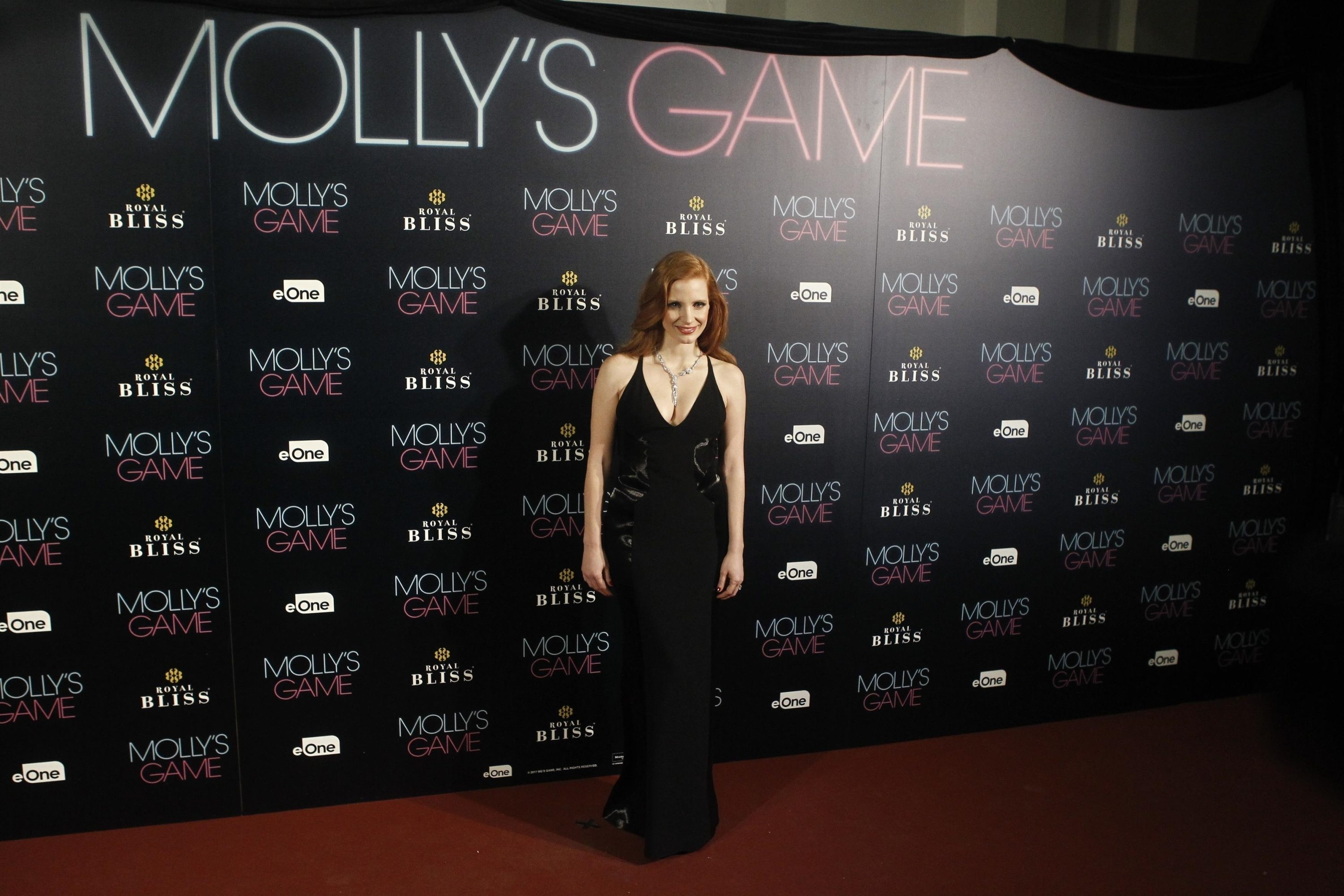 MOLLY'S GAME | Premiere e photocall em Madrid