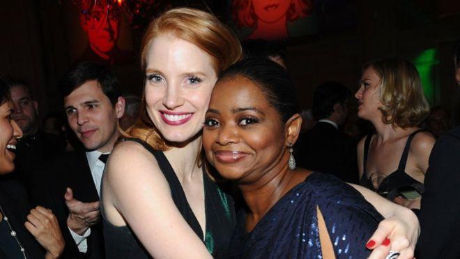 Jessica ajudou a Octavia a ganhar salário cinco vezes maior em novo filme da dupla